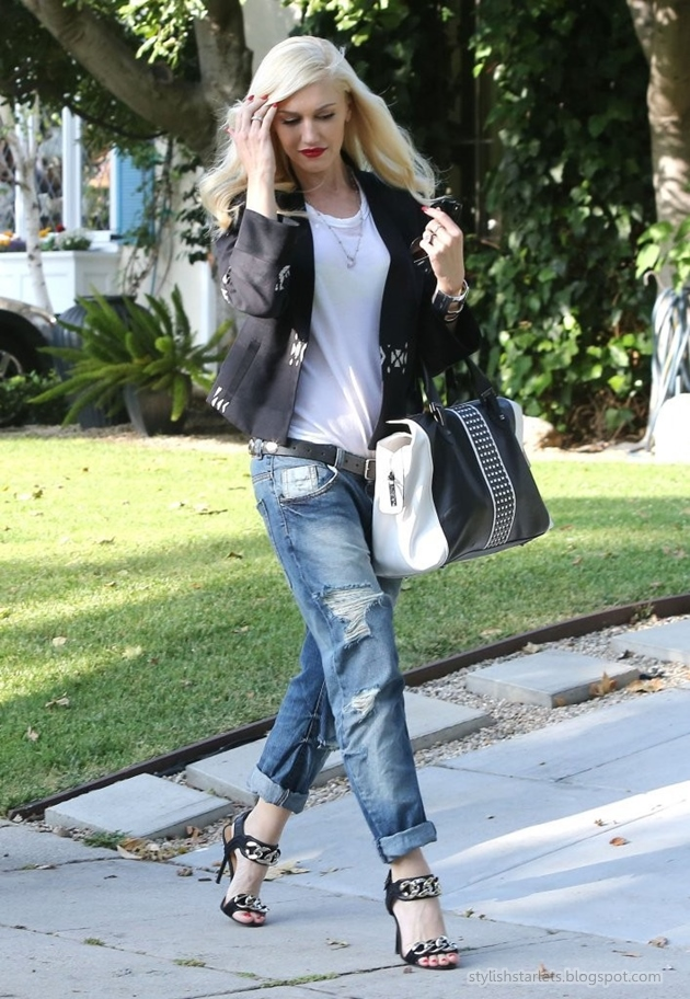 Style Watch: How celebrities wear boyfriend jeans for ...