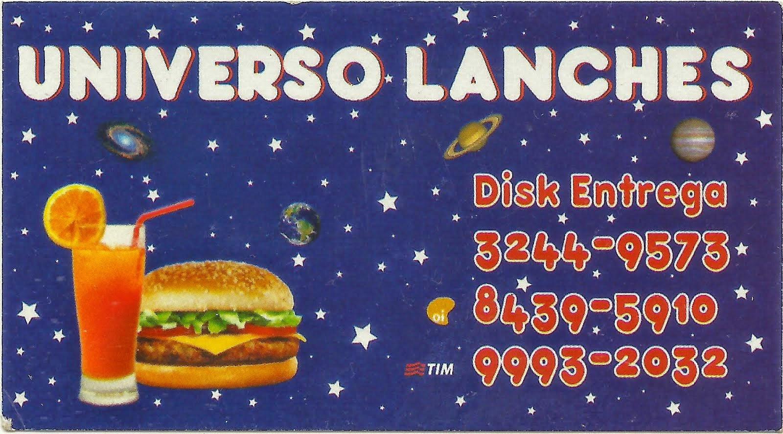 Universo Lanches no Jd Pioneiro