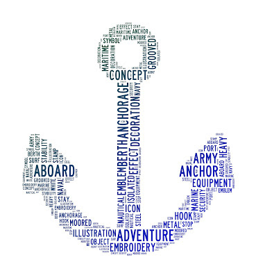 Image of Anchor full of texts