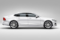Volvo S90 T8 Twin Engine (2016) Side