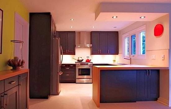 contoh desain dapur kecil minimalis k contoh desain dapur