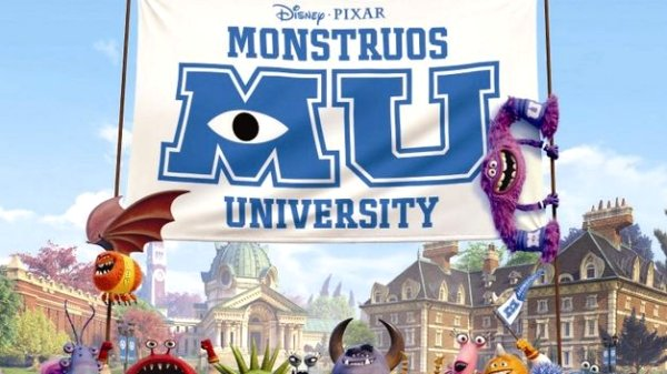 Película: Monstruos University