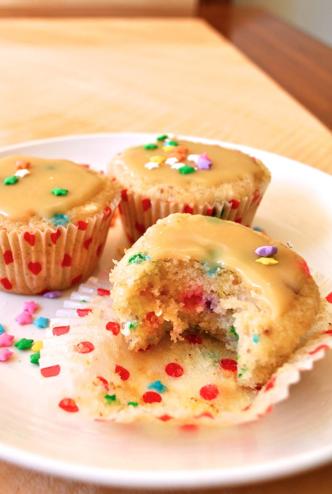 Baking Healthy Fairy Cakes