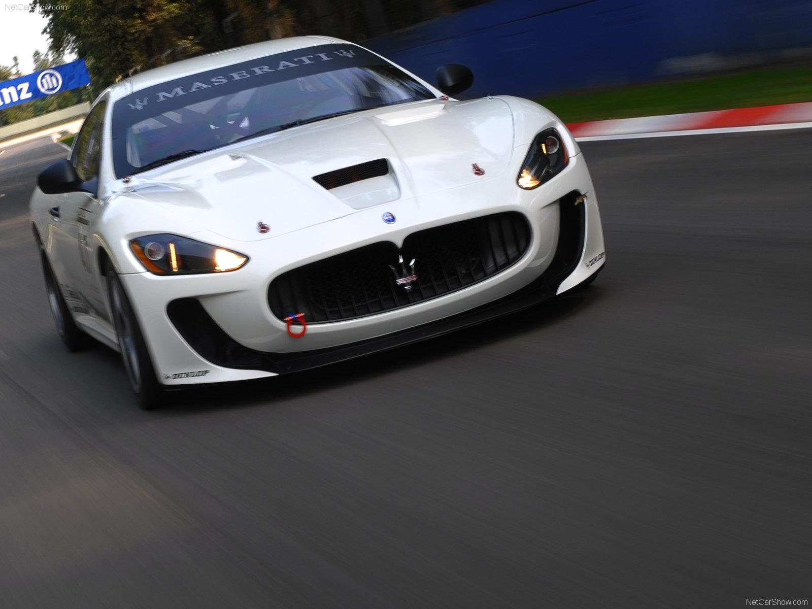 Hình ảnh siêu xe Maserati GranTurismo MC Concept 2008 & nội ngoại thất