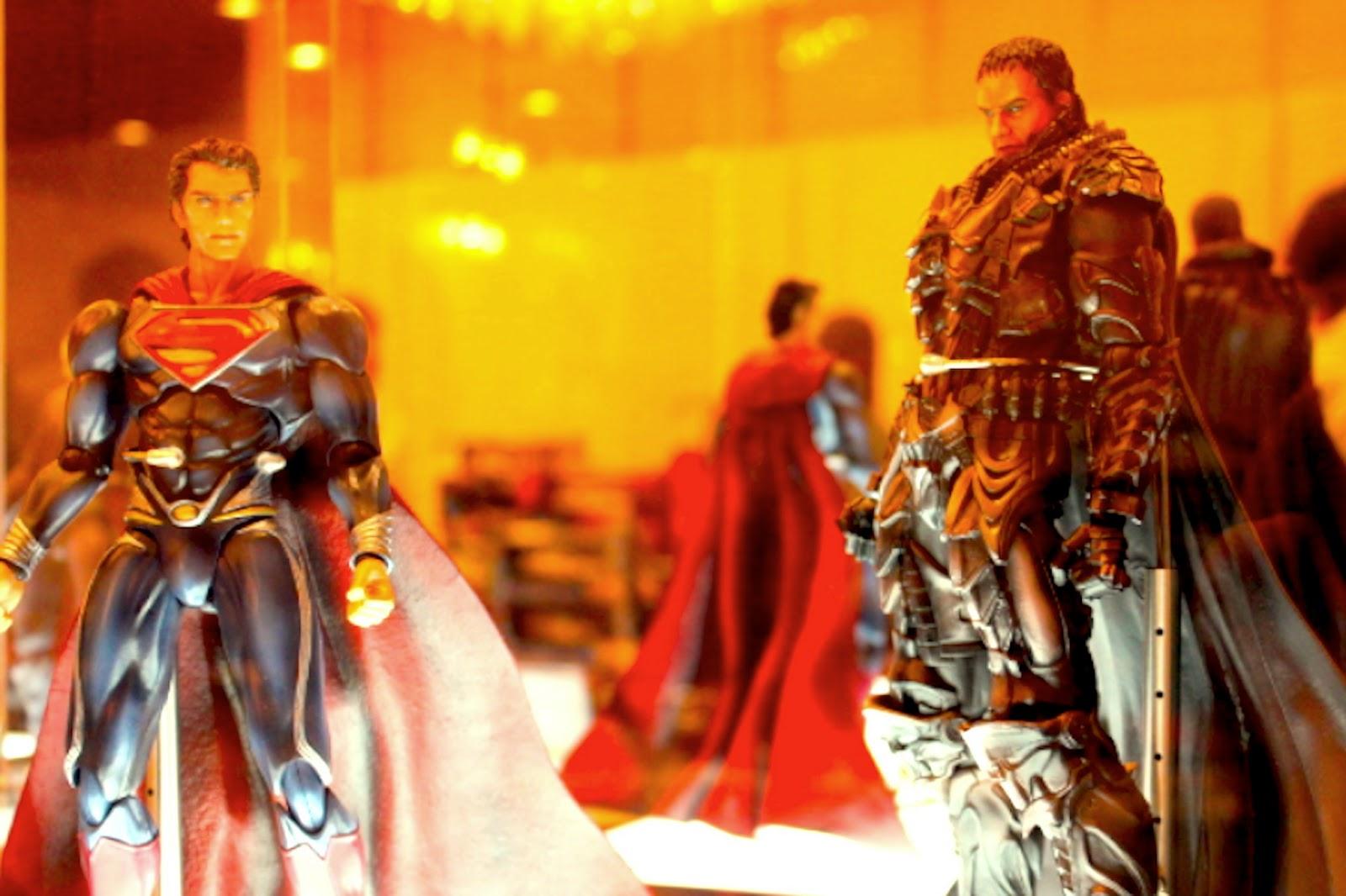 Square Enix Play Arts Kai Man Of Steel | Superman U0026 General Zod