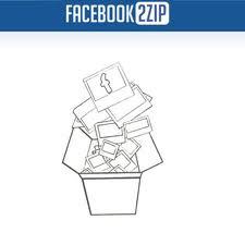 facebook2zip image download facebook photos