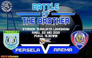 Persela vs Arema Indonesia ISL 2013