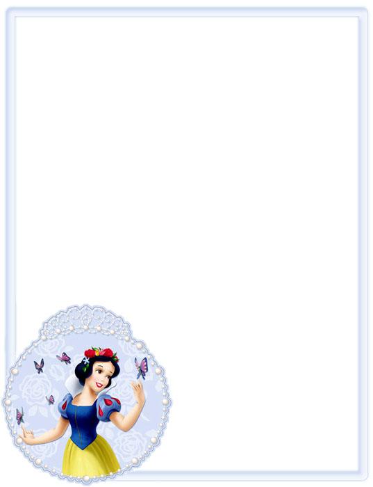 Bordes para foto Disney gratis - Imagui