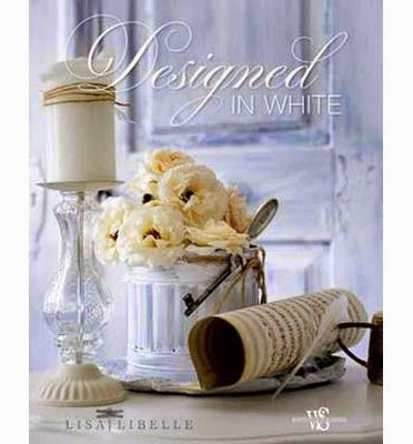 "my Book in English ""Designed IN WHITE"" & Français ""Déco TOTAL WHITE"""