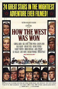How the West Was Won (1962) Poster