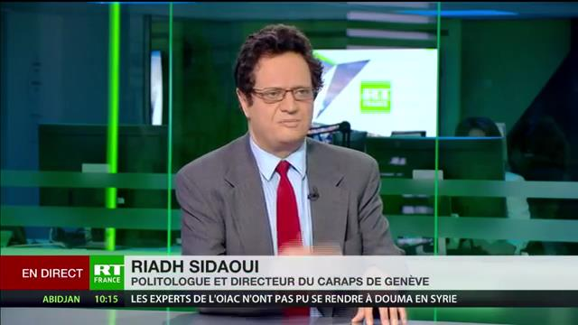 Riadh Sidaoui à RT France: Mohammed Bin Salman finance la guerre en Syrie