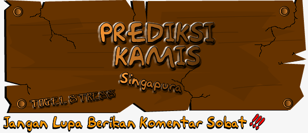 PREDIKSI TOGEL SINGAPURA KAMIS