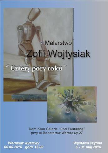 """Zofia Wojtysiak """"Cztery pory roku"""""""