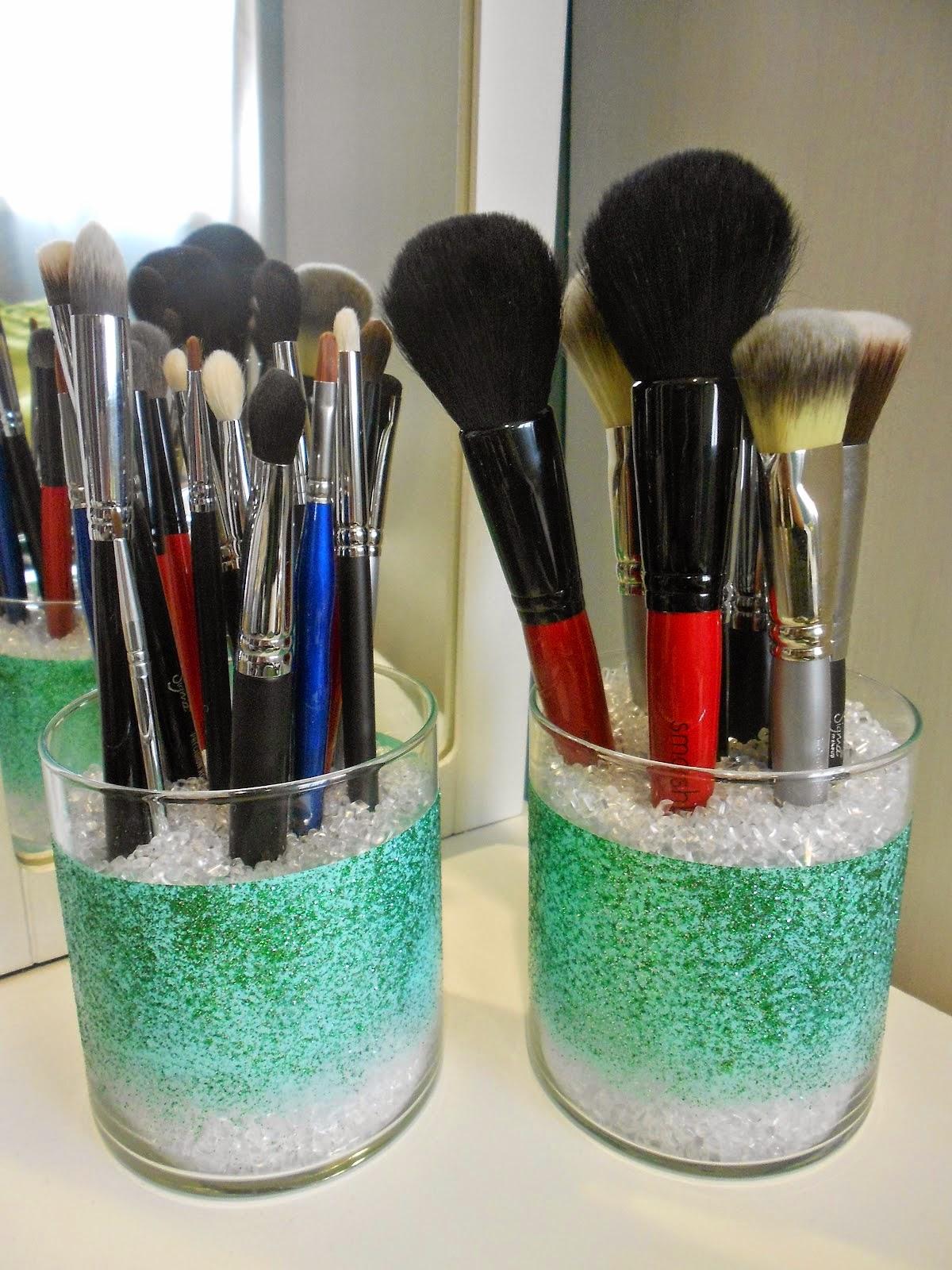 33 makeup brushes storage idea glowliciousme a beauty