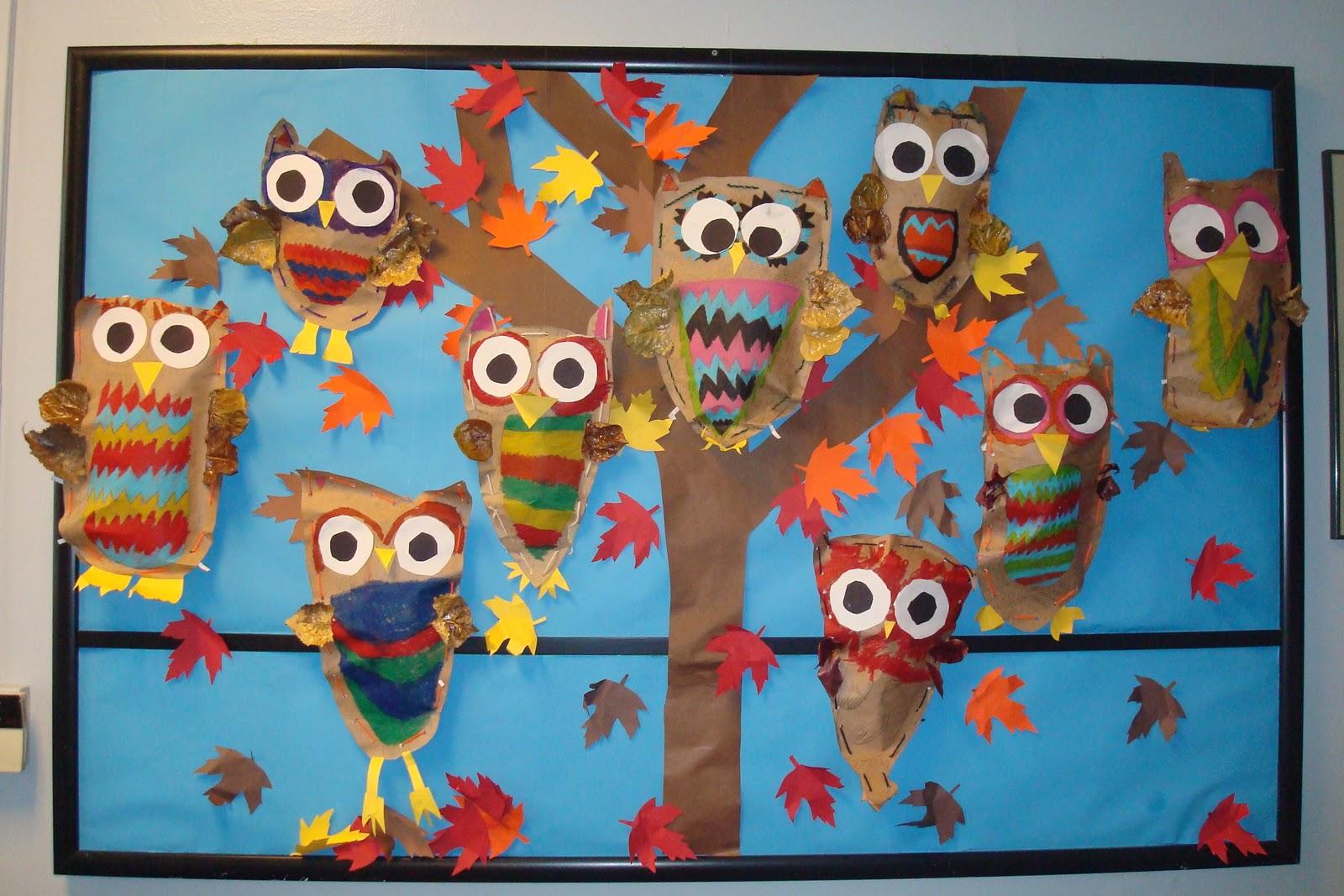 Owl Bulletin Board Ideas