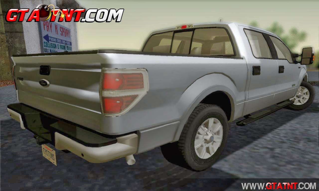 Ford F-150 Platinum 2013 para GTA San Andreas