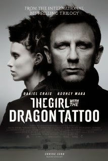 Daniel Craig dalam film The Girl with the Dragon Tattoo