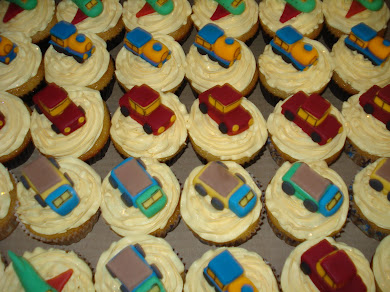 Little Car Cupcakes