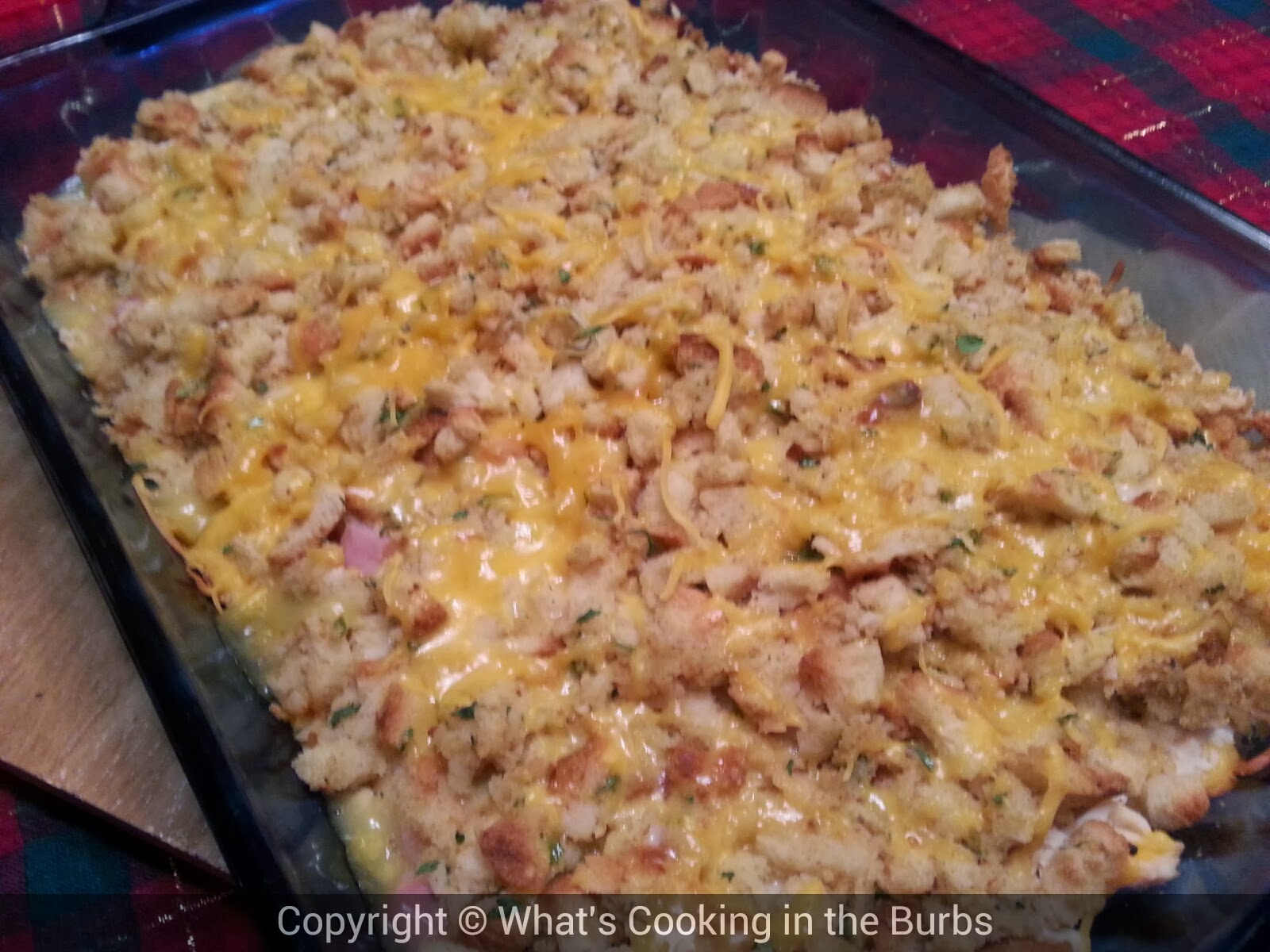 What's Cooking in the Burbs: Skinny Chicken Cordon Bleu Bake