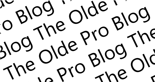the olde pro