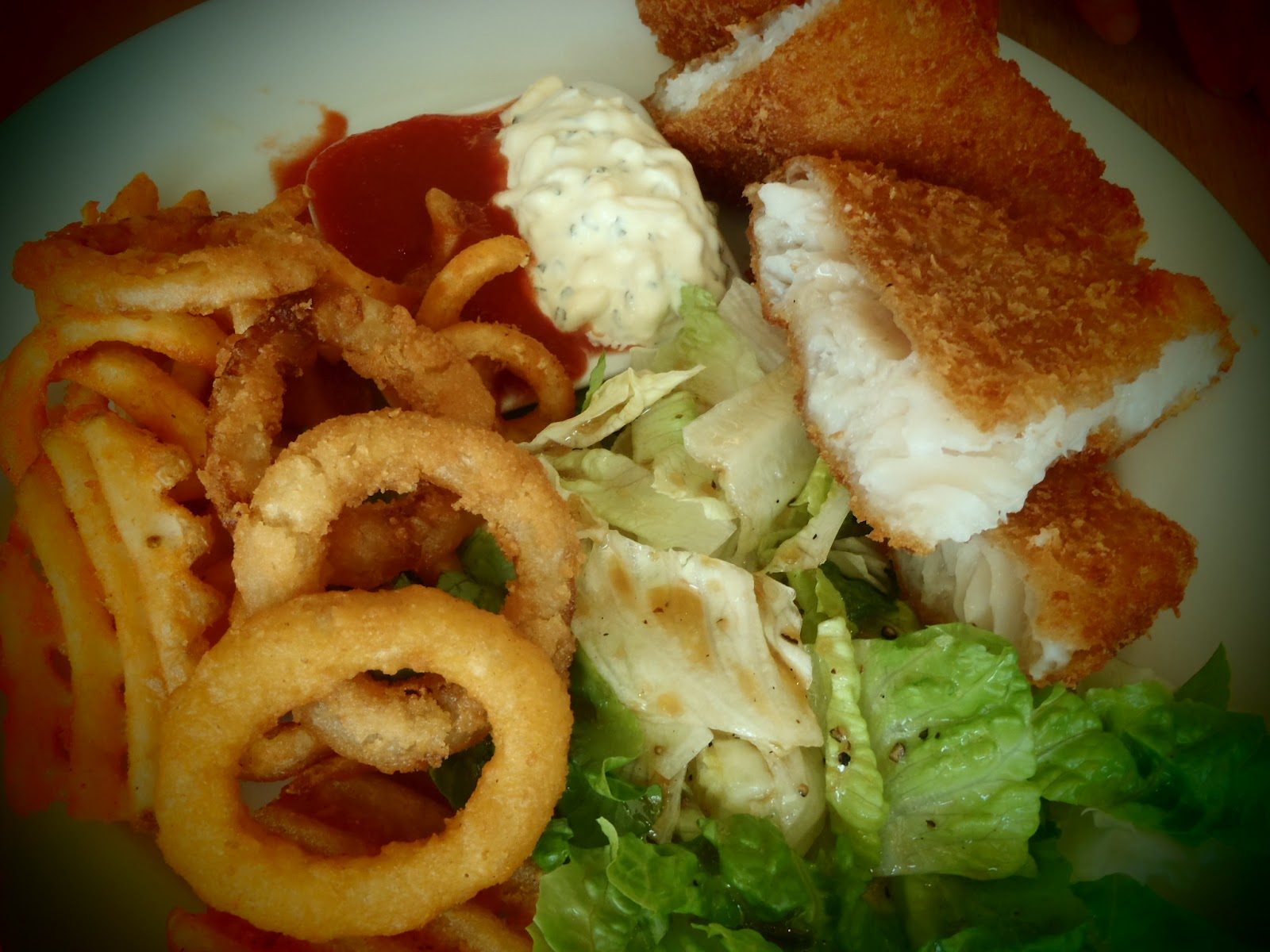 Follow your cravings f y c pasta de waraku for Fried fish with bread crumbs