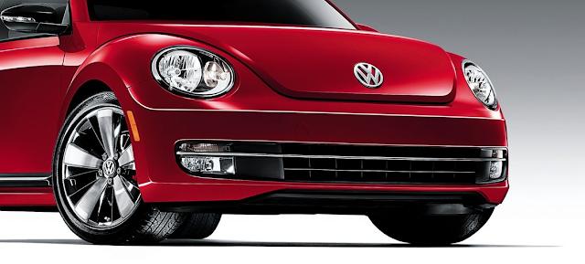 2015 Volkswagen Beetle hood VW logo