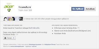 Acer bagi-bagi hadiah gratis