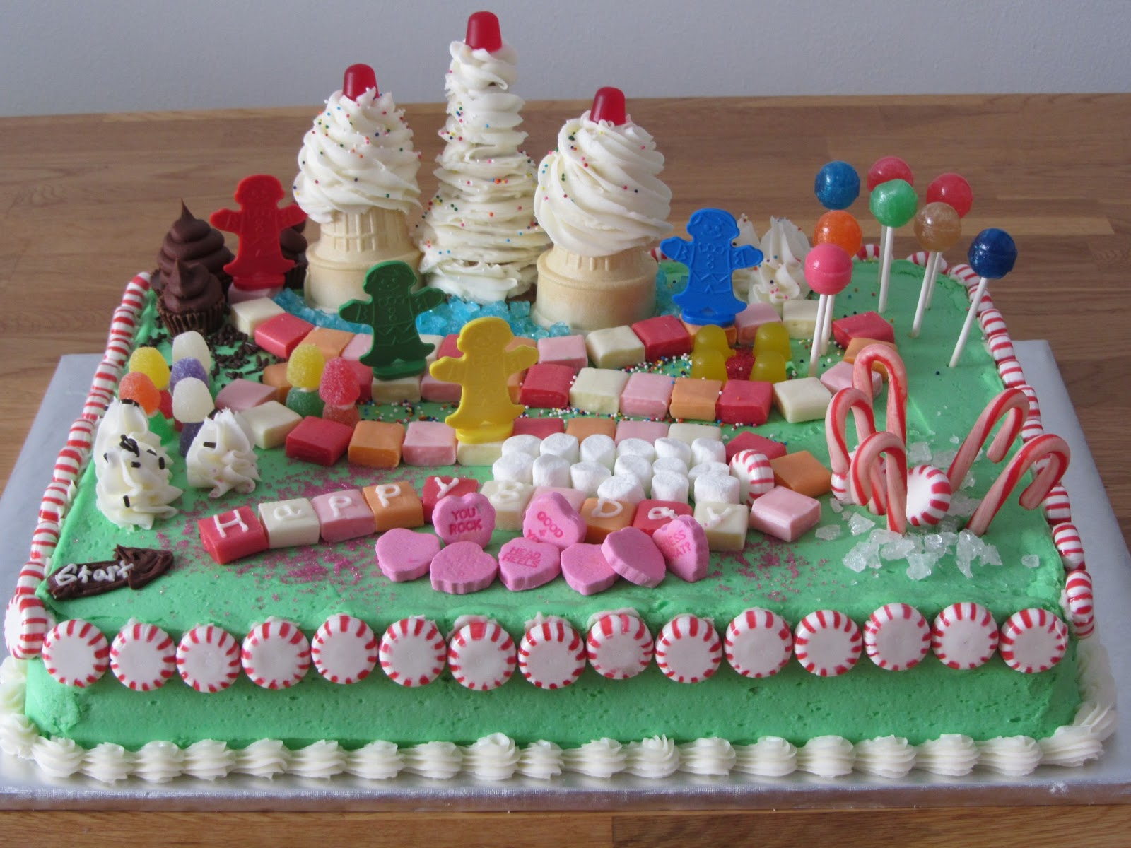 Been There Baked That Candyland Birthday Cake
