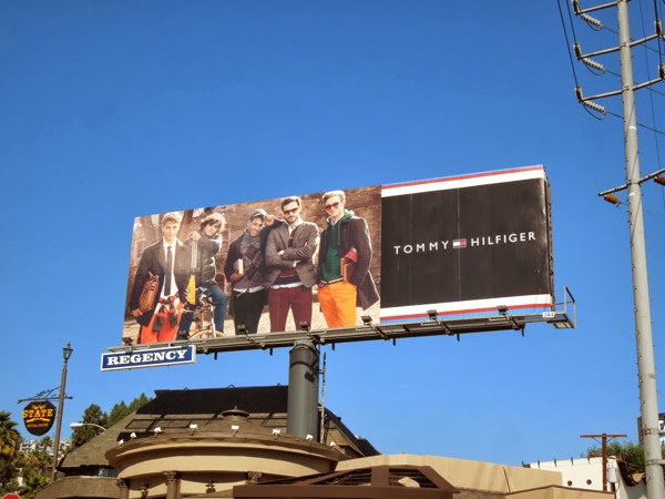 Tommy Hilfiger Fall 2013 billboard