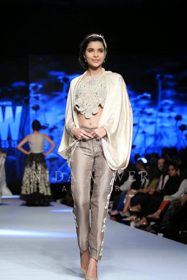 Pakistani clothes Nida Azwer summer collection