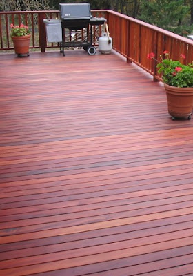 tigerwood hardwood decking