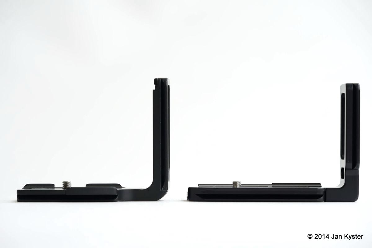 Markins LN-800 vs. Hejnar ND800 front sides view