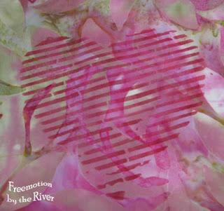 Heart Striped stencil