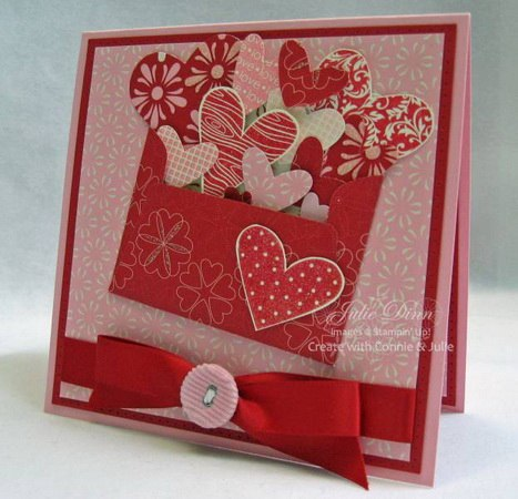 Valentine card ideas home decorating ideas for Designs for valentine cards