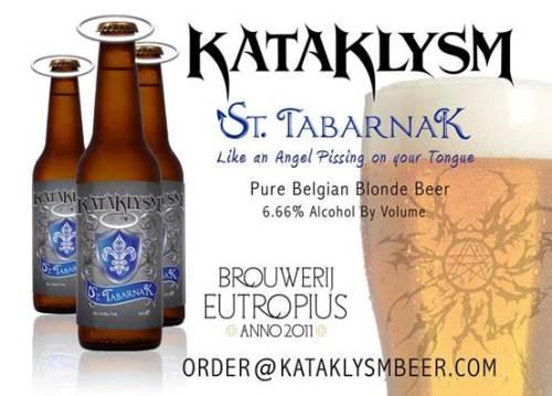 KATAKLYSM: Παρουσιάζουν την δική τους μπύρα