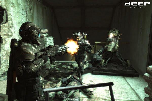 Screen Shot Of Deep Black Reloaded (2012) Full PC Game Free Download At Downloadingzoo.Com