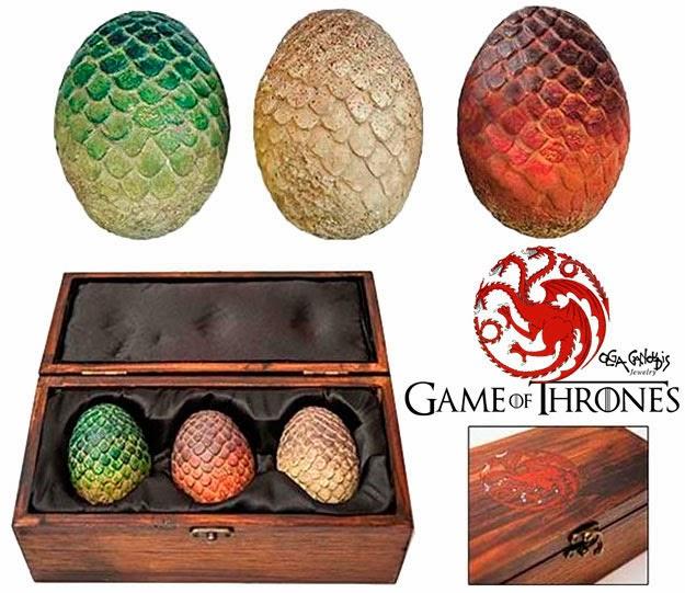 Estuche con Huevos de Dragón