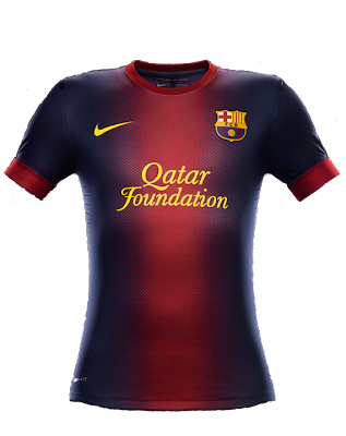 home kit Barcelona 2012/2013