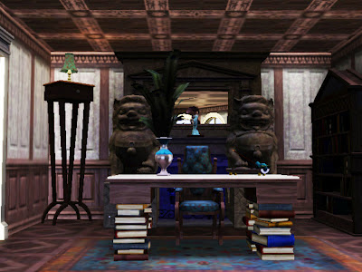 madness mysterious east asian office sims 3
