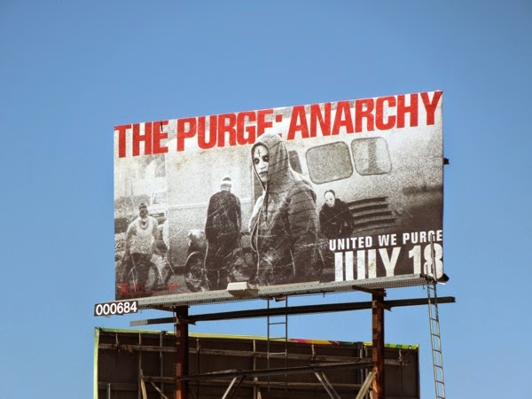 Purge Anarchy hoodie billboard