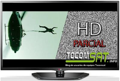 HD parcial tocomsat