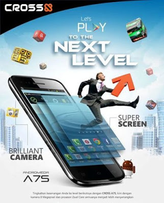cross A7s spesifikasi Cross A7S, Hp Android ICS 3G Dual core