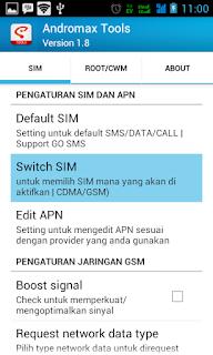Cara Jitu Mengaktifkan Data GSM Pada Smartfren Andromax