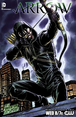 Cover to Arrow #1 from DC Comics