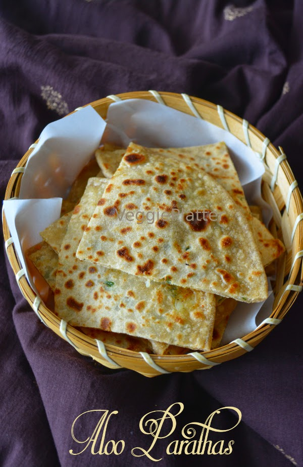Aloo Paratha ~ Stuffed Potato Flat Bread