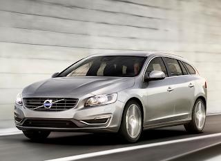 2014 Volvo V60 silver