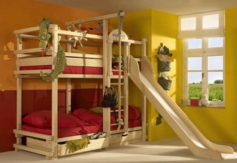 blueprints for triple bunk beds