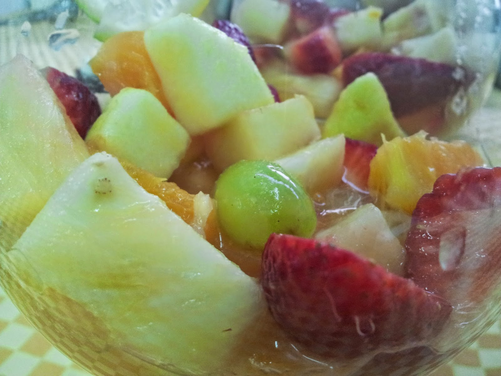 C ctel de frutas multivitam nico alimentaci n saludable y nutrici n - Como hacer coctel de frutas ...