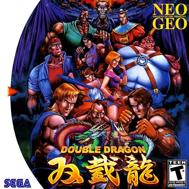 Double Dragon Dreamcast NeoGeo Cover