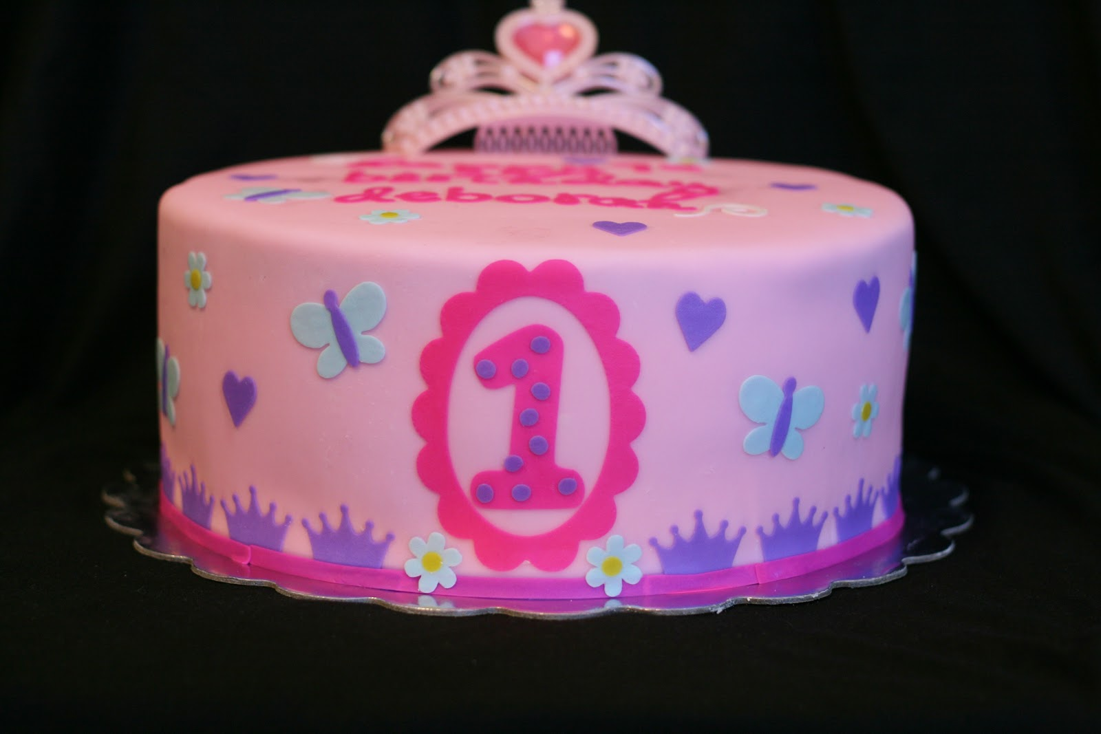 I Wish That I Had Jessies Cakes Princess first birthday Lincoln